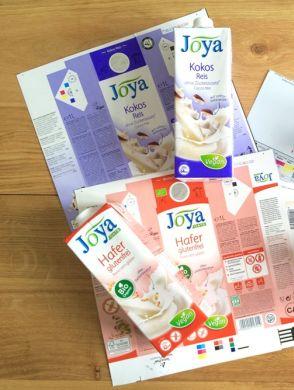 Joya Verpackung vorher nachher - Joya Verpackungen