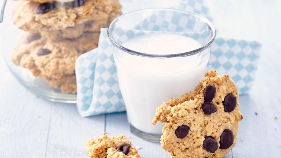 Hafercookies mit Schokochips - 4Oat Cookies with Chocolate Chips