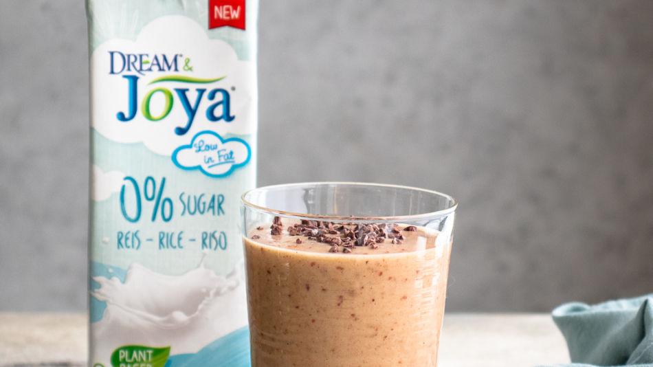 Maroni Shake - Ein Glas Maroni Shake mit Reis Drink 0% Zucker