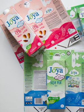 Joya Verpackungen - diverse Joya Verpackungen und deren Zuschnitte