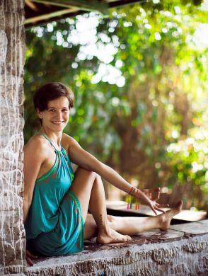 Yoga im Herbst - Yoga Lehrerin Nancy Krüger - © Nancy Krüger