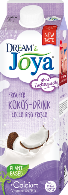 Dream & Joya Coconut Drink chilled