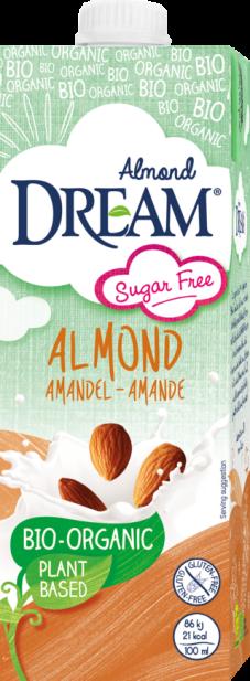 Dream Organic Almond Drink sugar free