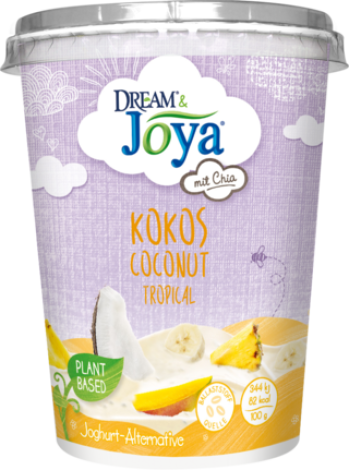 Dream & Joya Kokos-Chia Joghurtalternative Tropical