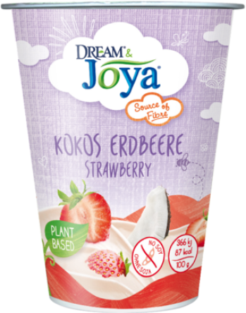 Dream & Joya Coconut Yogurt Alternative Strawberry