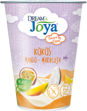 Dream & Joya Coconut Yogurt Alternative Mango Maracuja