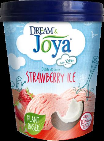 Dream & Joya Kokos Eis Erdbeere