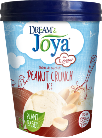 Dream & Joya Erdnuss Eis Peanut Crunch