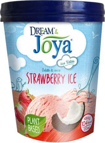Dream & Joya Coconut Ice Cream Strawberry