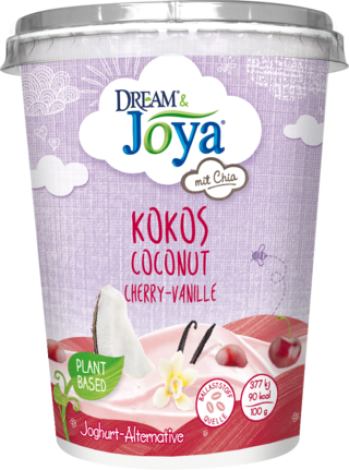 Dream & Joya Coconut-Chia Yogurt Alternative Cherry Vanilla