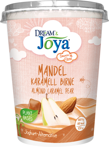 Dream & Joya Mandel Joghurtalternative Karamell Birne