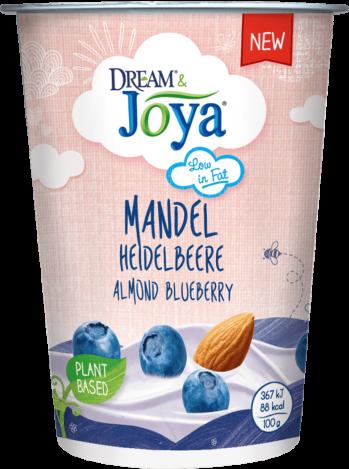 Dream & Joya Mandel Joghurtalternative Heidelbeere