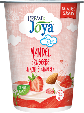 Dream & Joya Mandel mit Joghurtkulturen Erdbeere